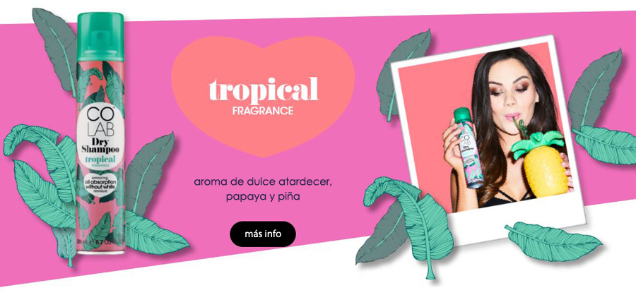 champu seco colab tropical