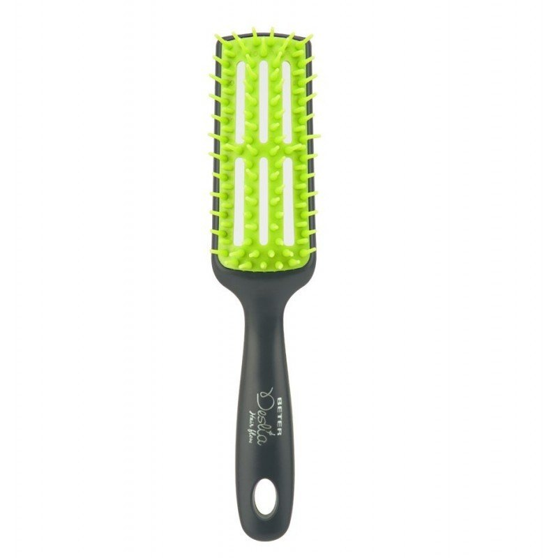 Beter - Hairflow detangling skeleton brush - Green