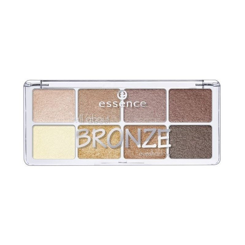 Essence - Eyeshadow palette - 01 All about Bronze