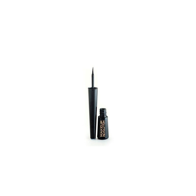 Makeup Revolution - Amazing Liquid Eyeliner - Waterproof Black