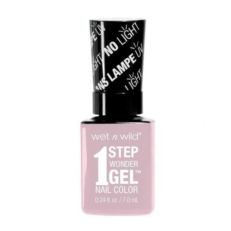 Wet n Wild - Esmalte de Uñas 1 Step Wonder Gel - E7201 Pale in Comparison