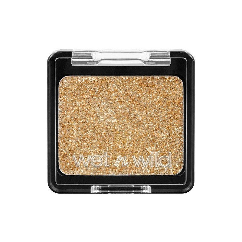 Wet n Wild - Shadow Glitter Color Icon - E3522 Brass