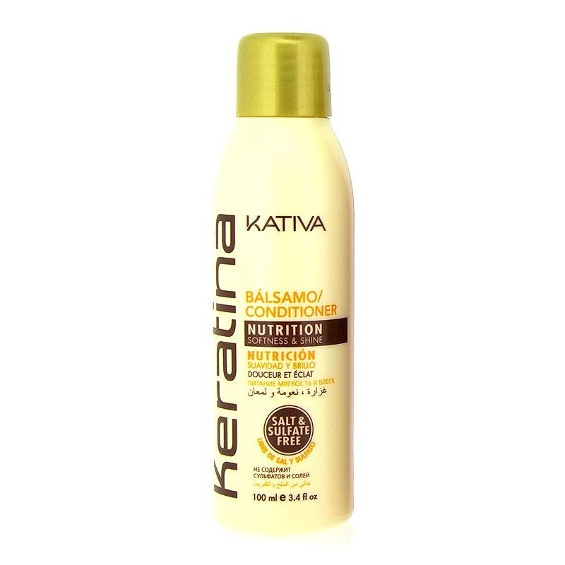 Kativa - Keratin Balm conditioner travel size 100 ml.