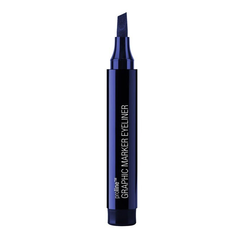 Wet n Wild - Wet n Wild - ProLine Eye liner Pen Graphic Marker - E878 AirLiner Blue